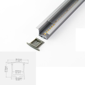 LED ALUMINUM Channel PS3628