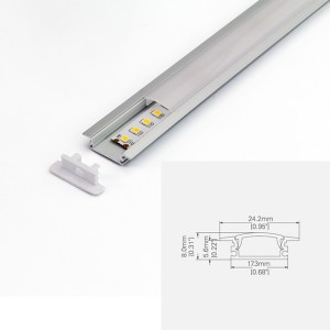 LED ALUMINUM PROFILE-PS2507 Aluminum Profile Kit