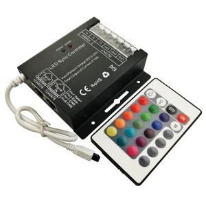 24-Key LED Sync Infrared Controller