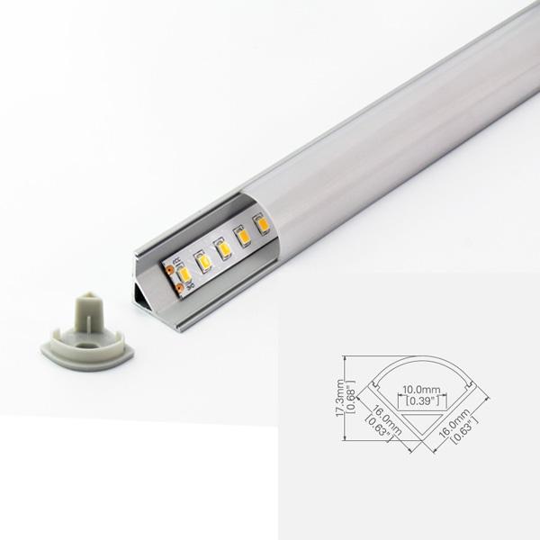 LED ALUMINUM PROFILE-PS1616 Aluminum Profile Kit Featured Image