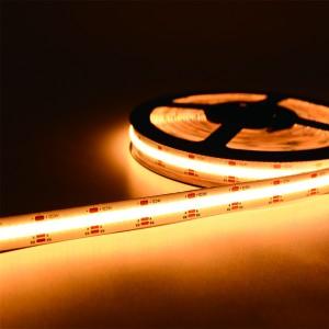 Decorative 12W 1200LM/M 10MM 480LEDs/M COB Flexible LED Strip