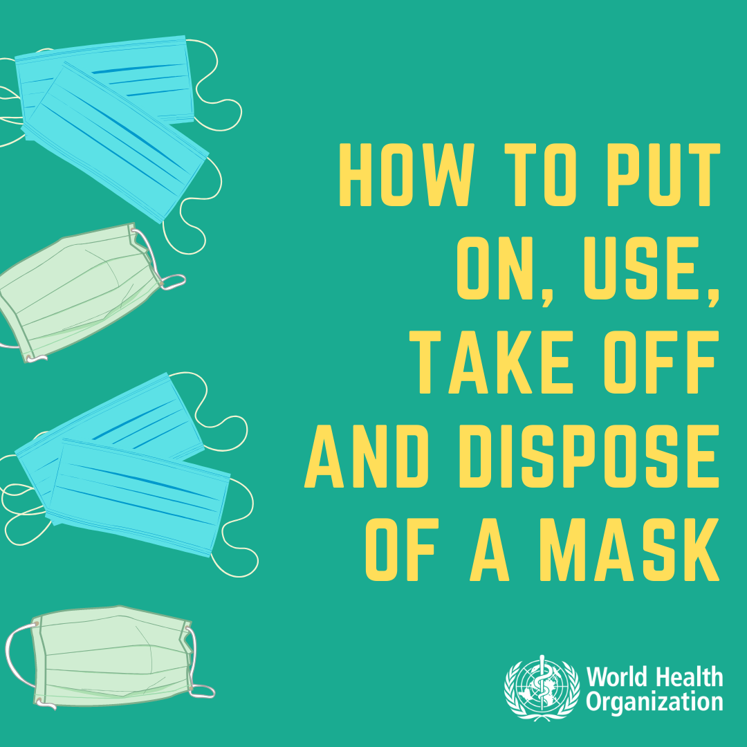 Coronavirus disease (COVID-19) advice for the public: When and how to use masks