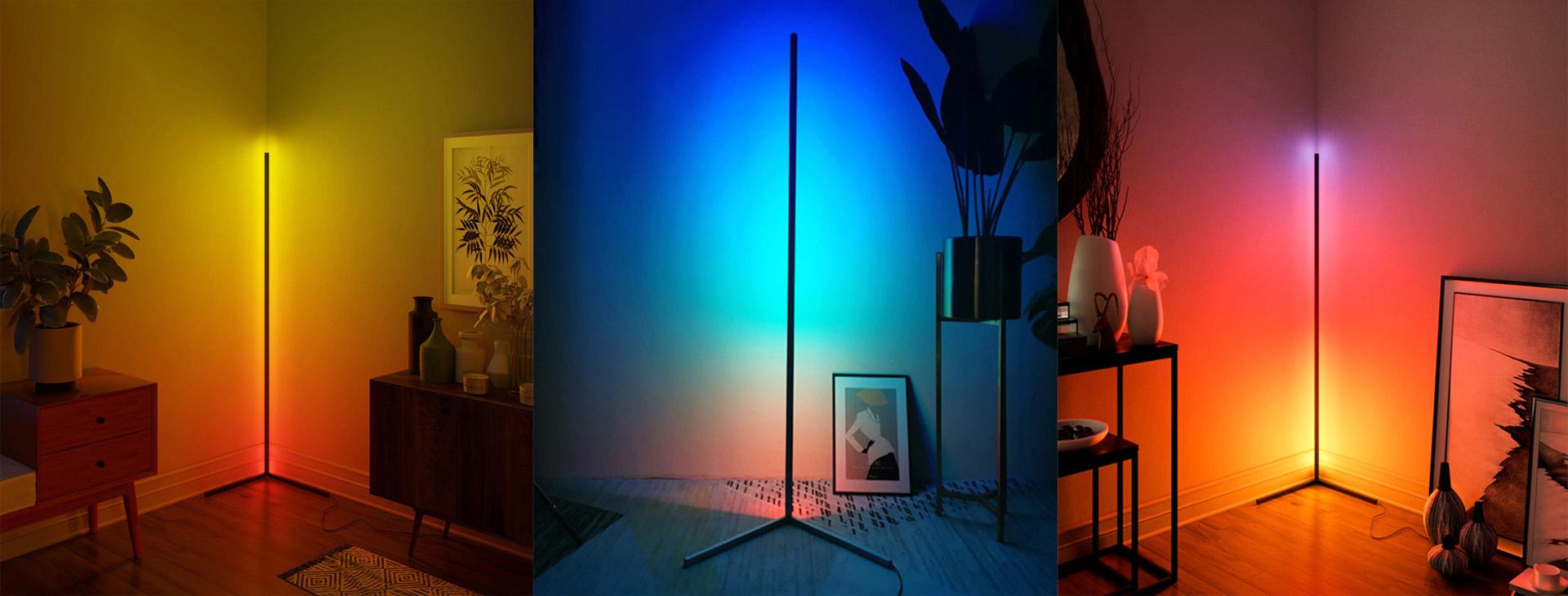 Banner RGB Floor Light