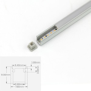 LED ALUMINUM PROFILE-PS0809 Aluminum Profile Kit
