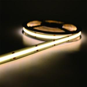 Dimmable 384LEDs/M COB Uniform Glow Bendable Tape Lights