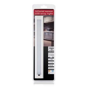 Hand Sweep sensor 9W Dimmable LED Under Wardrobe Light